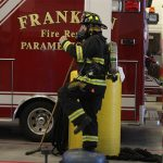 Luke Working with the Franklin Fire Department