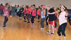 zumba, zumbathon, benefit, breast cancer, cancer, find a cure. race for the cure, pink, dance, group fitness, franklin, innovative health & fitness